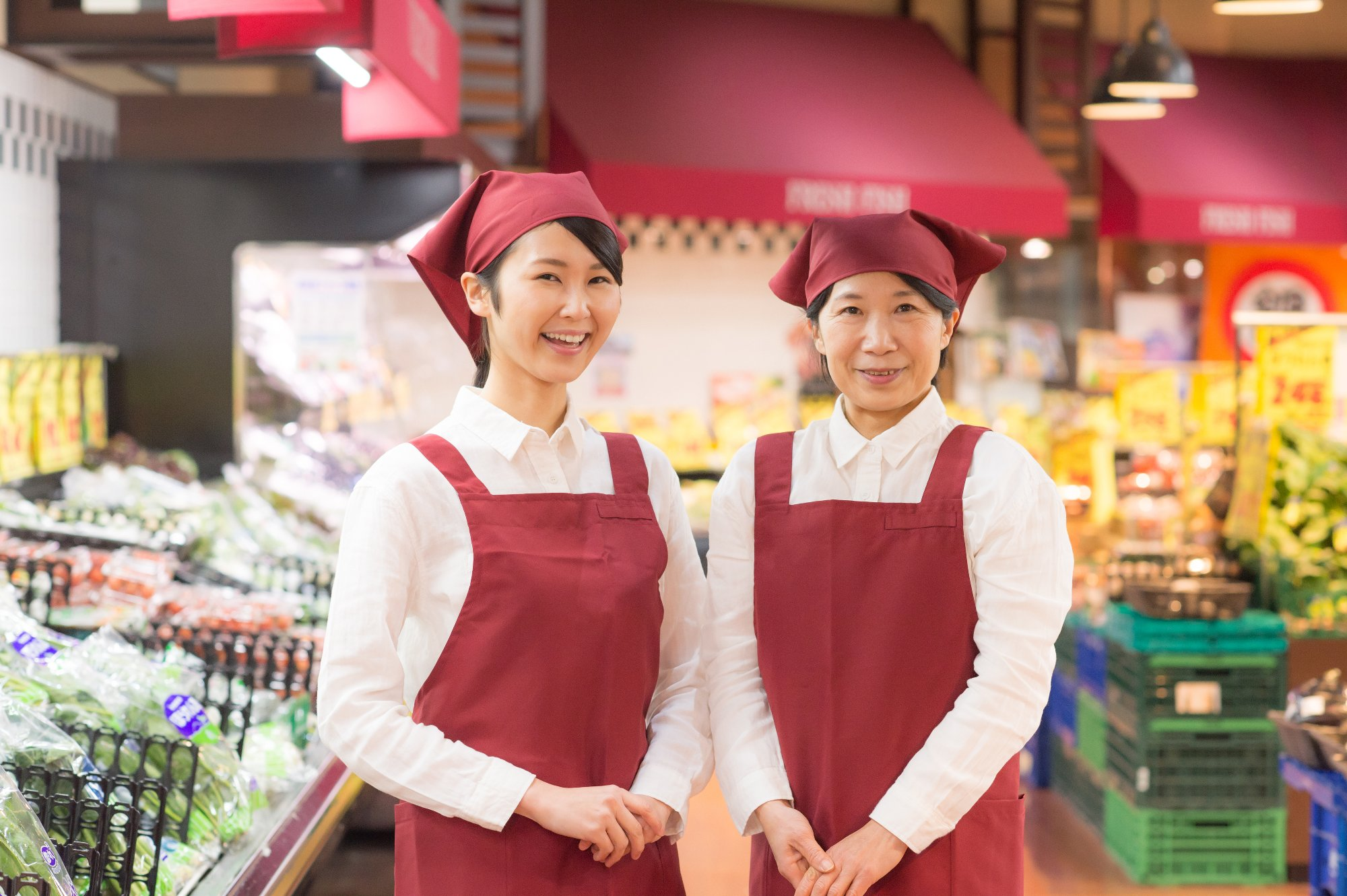 さいたま市北区≫スーパーでのパック詰め・品出し業務【1日4時間~...