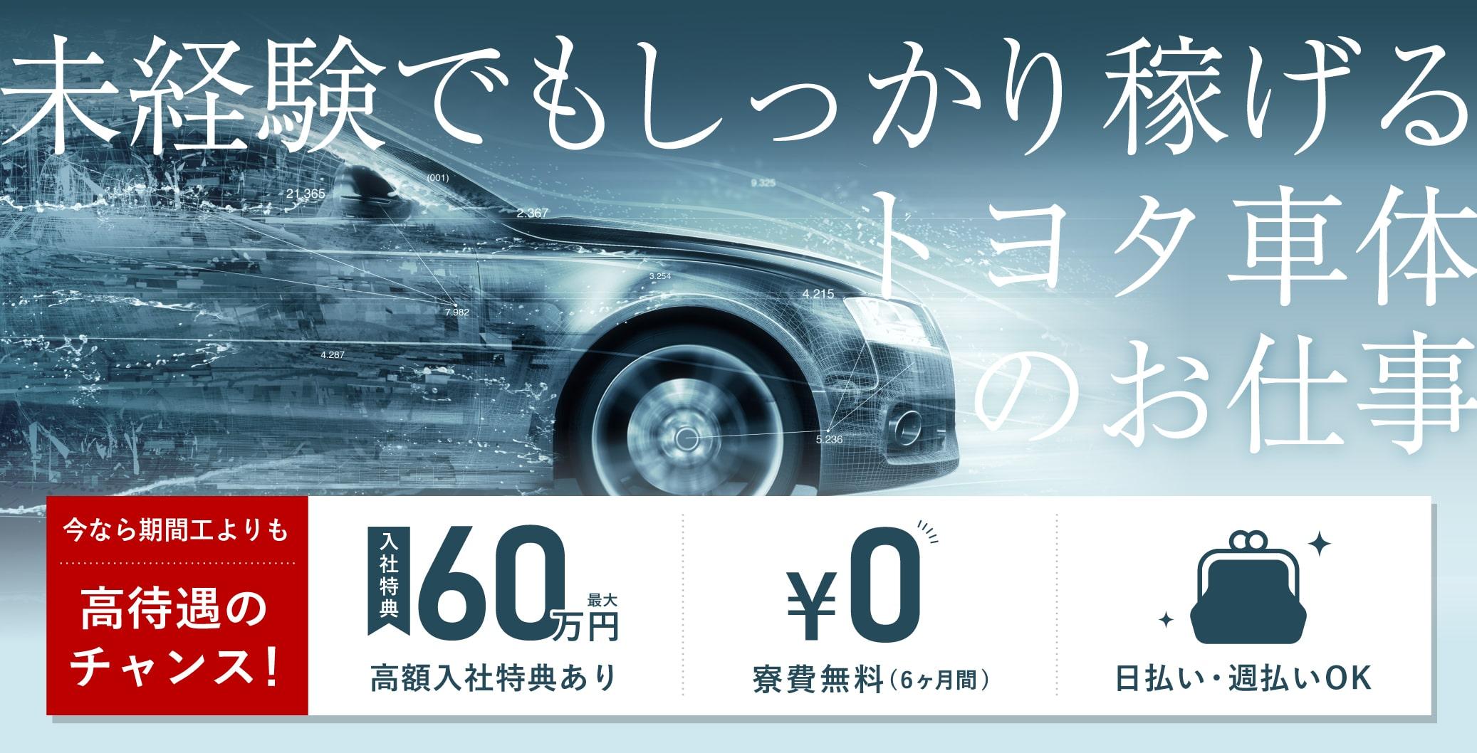 トヨタ車体訴求画像